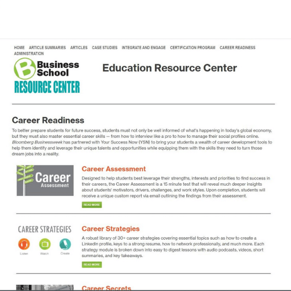 classroom business news articles education resource center Peregrine Global Services